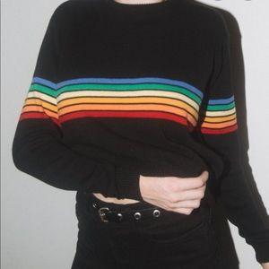 Brandy Melville Jessica Rainbow Sweater